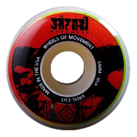 Satori Vinyl Series Wheels 101A Red 51mm