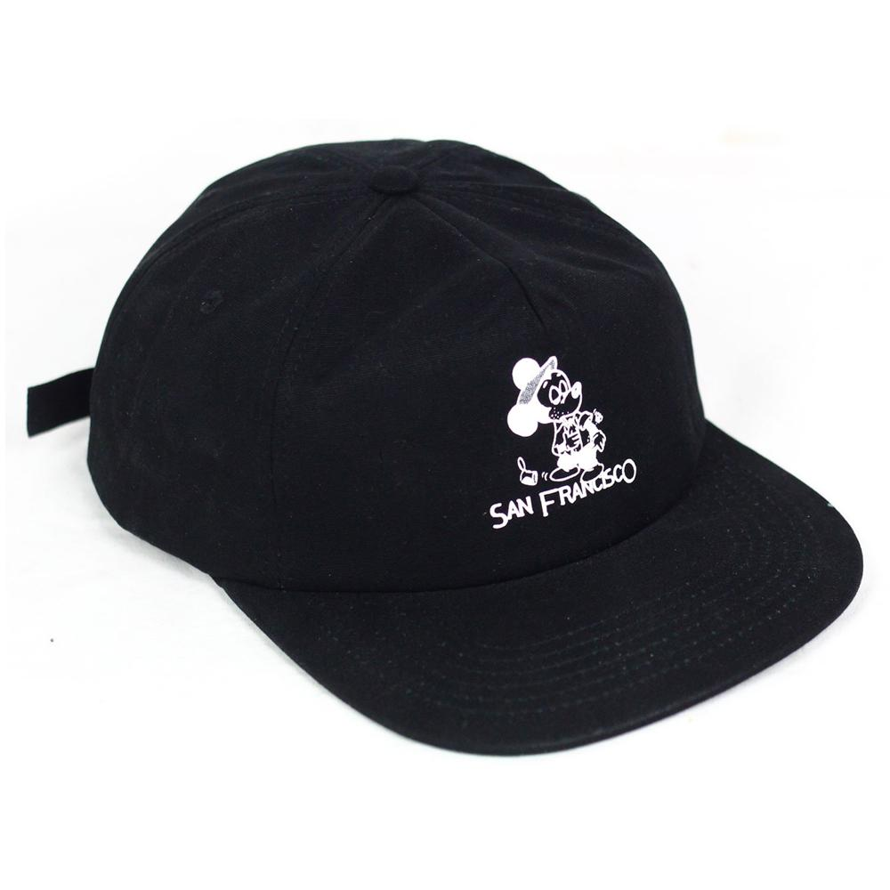 Snack Seein The Sights Hat Black