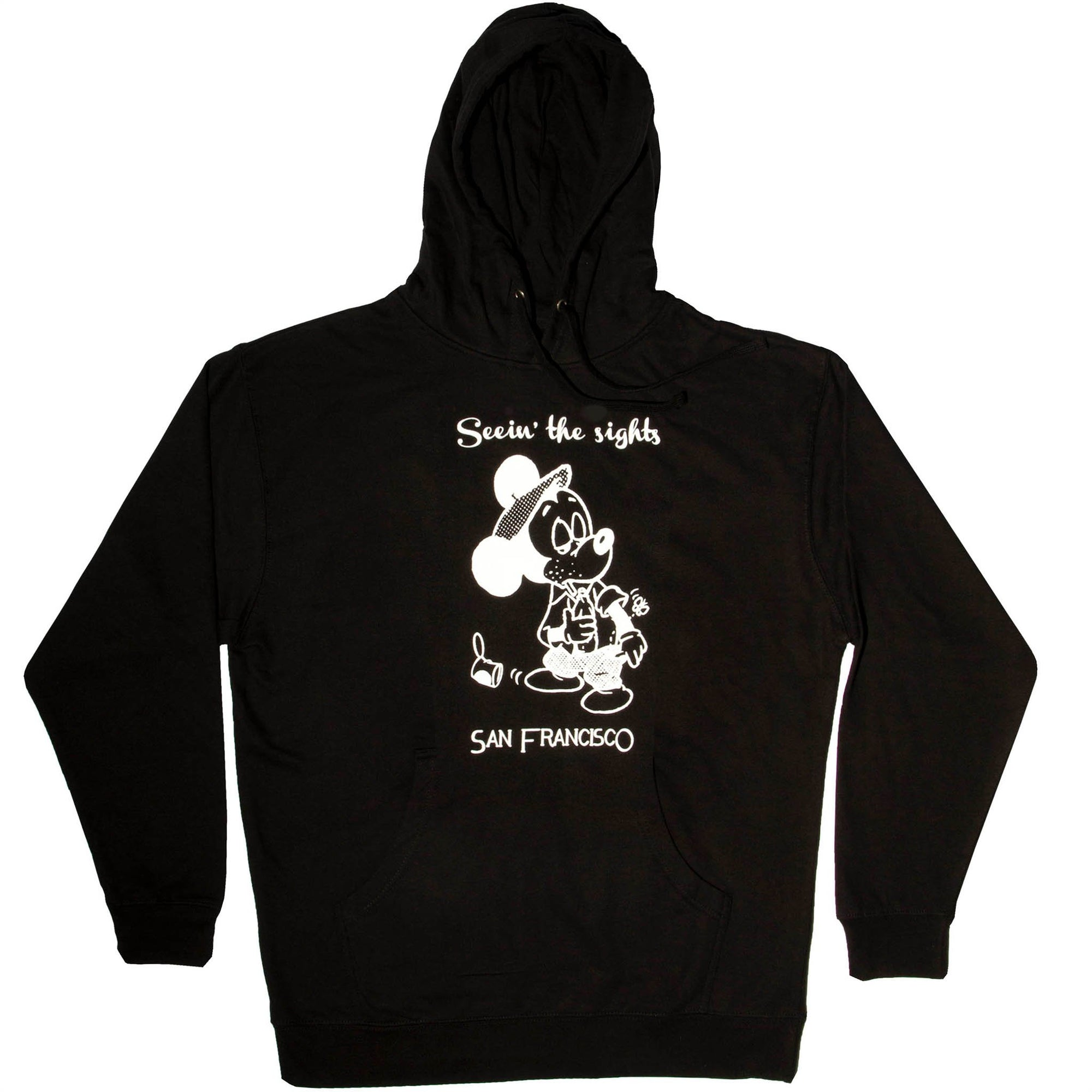 Snack Seein The Sights Hoodie Black