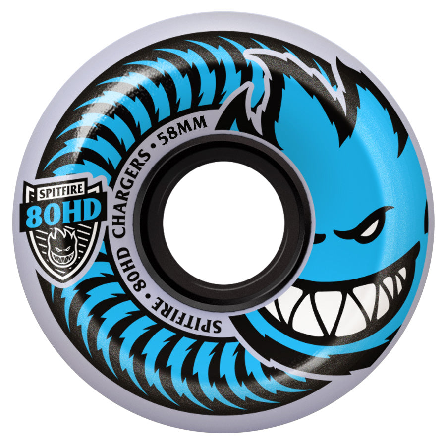Spitfire Wheels 80HD Charger Conical Clear 54mm
