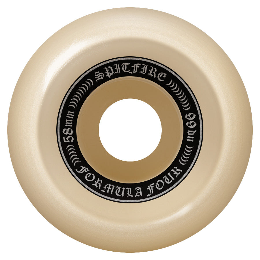 Spitfire Wheels Formula Four F4 OG Classics 99D 58mm