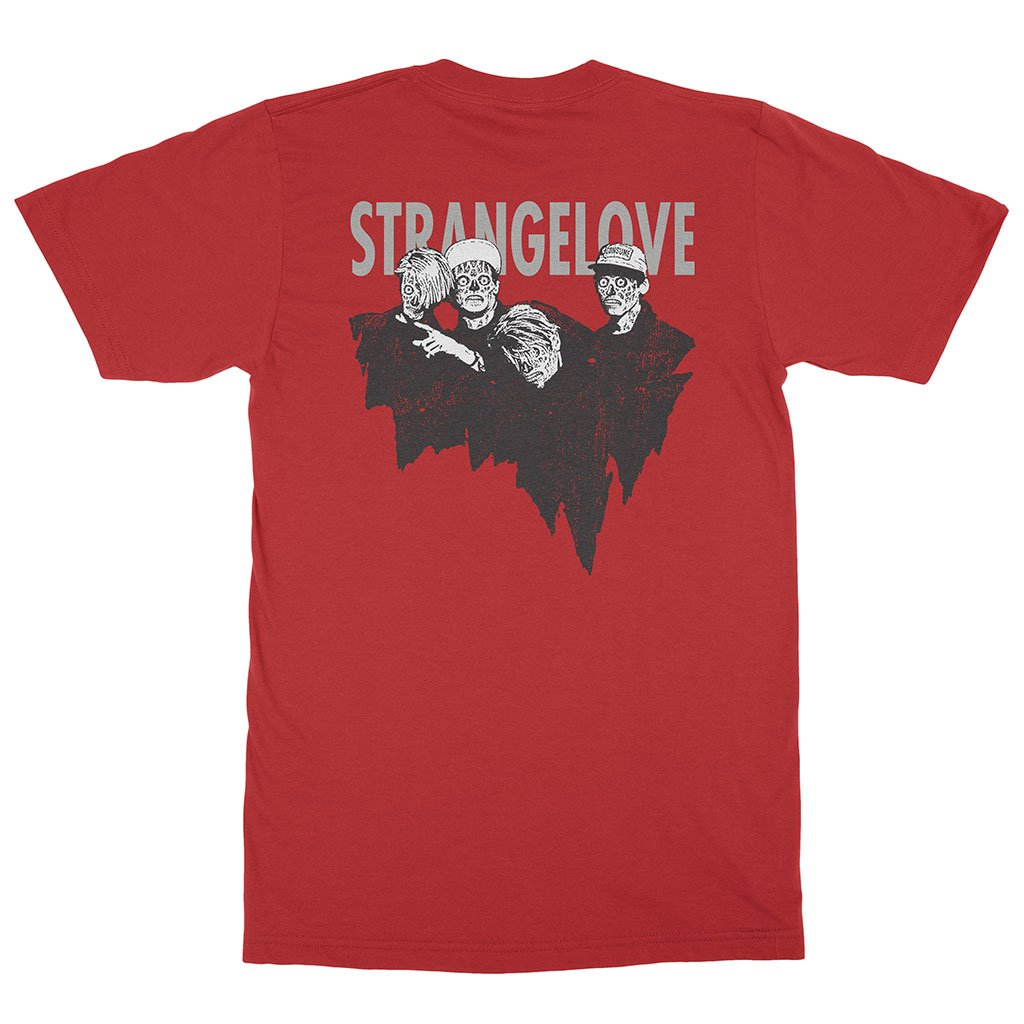 Strangelove Consume Tee Red