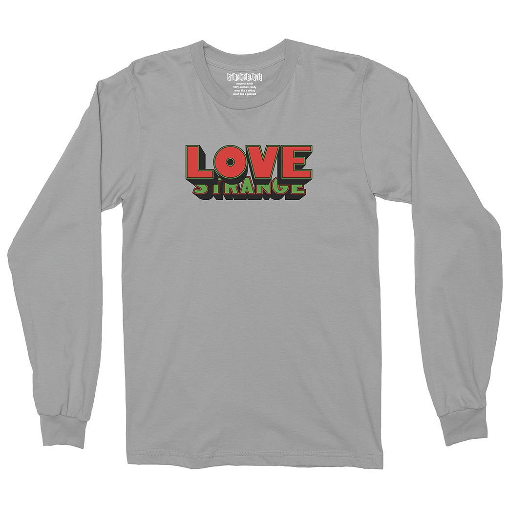 StrangeLove Love Long Sleeve Heather Grey