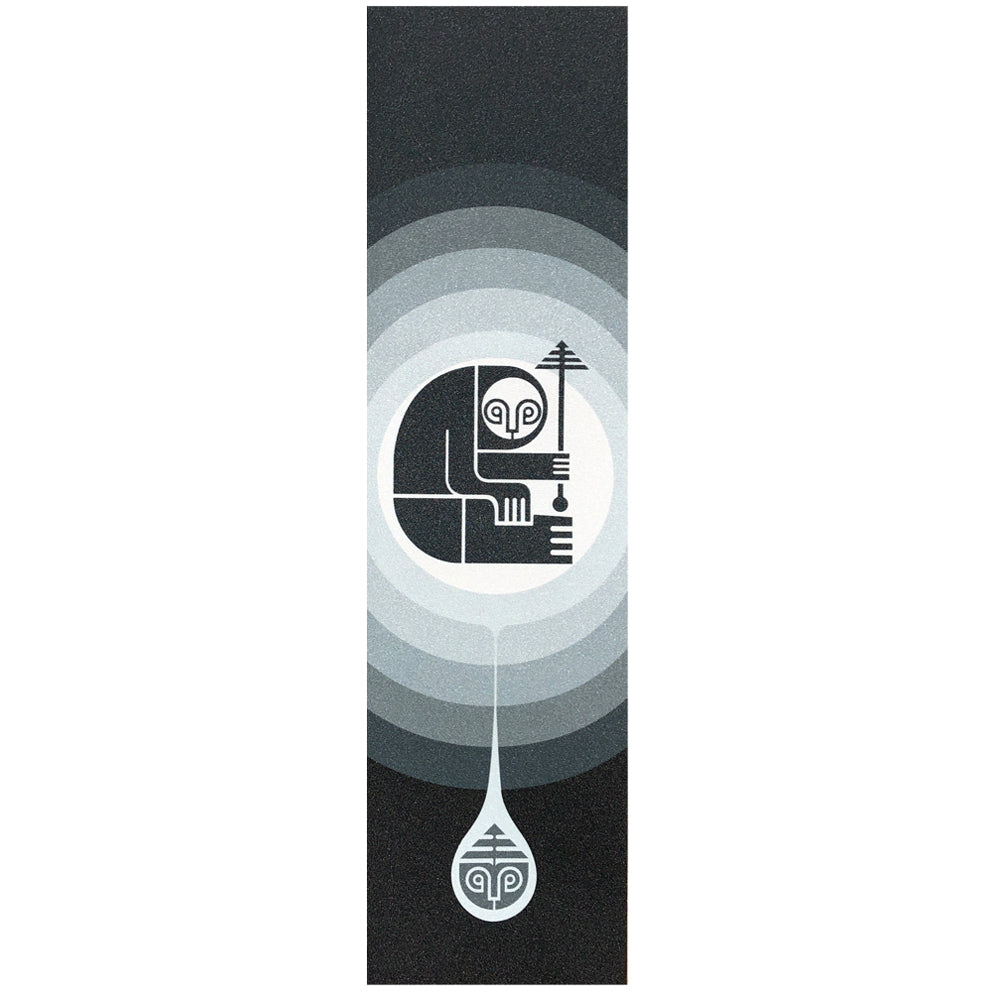 Darkroom Sloth Drop Tonal Griptape Black