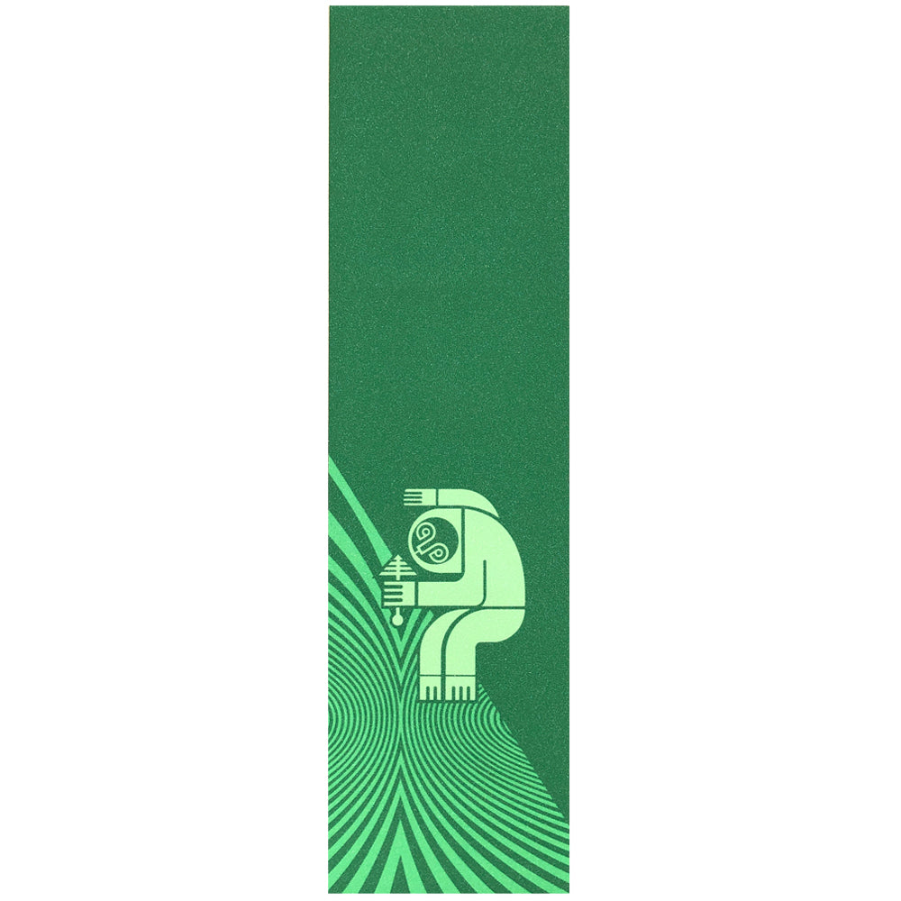 Darkroom Sloth Vortex Griptape Green
