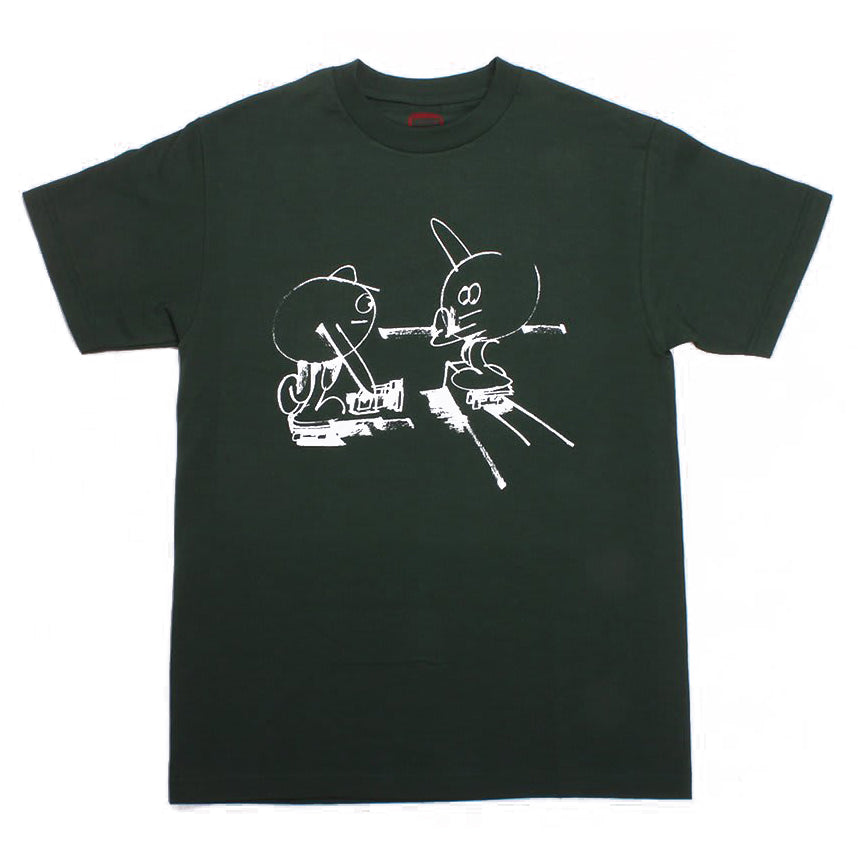 Hopps Tee Williams Static Days Green