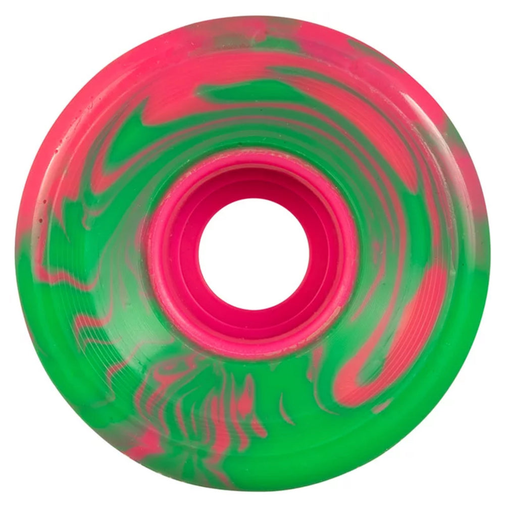 OJ Wheels Super Juice Pink Green Swirl 60mm 78a