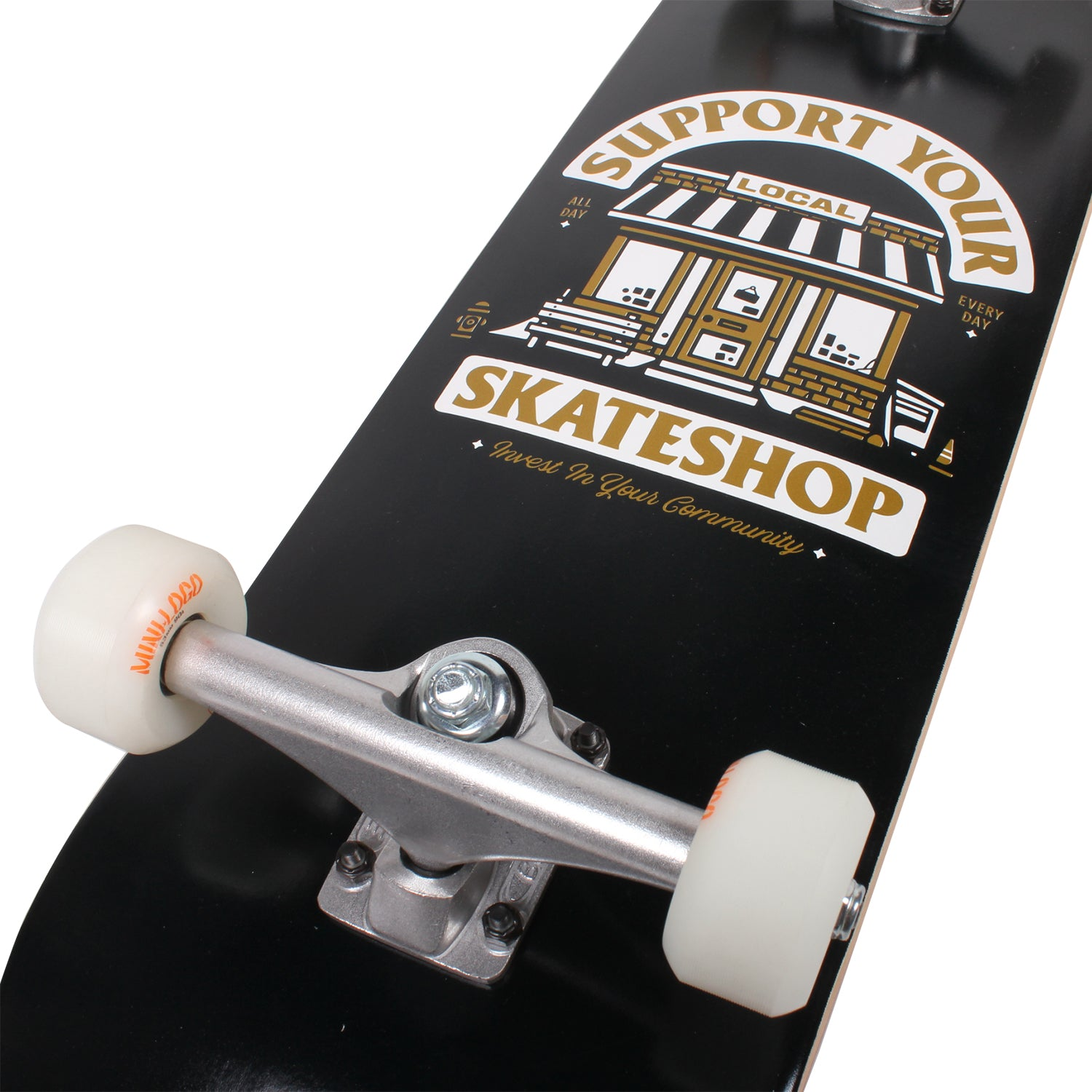 Support Your Local Skateshop Beginner Complete
