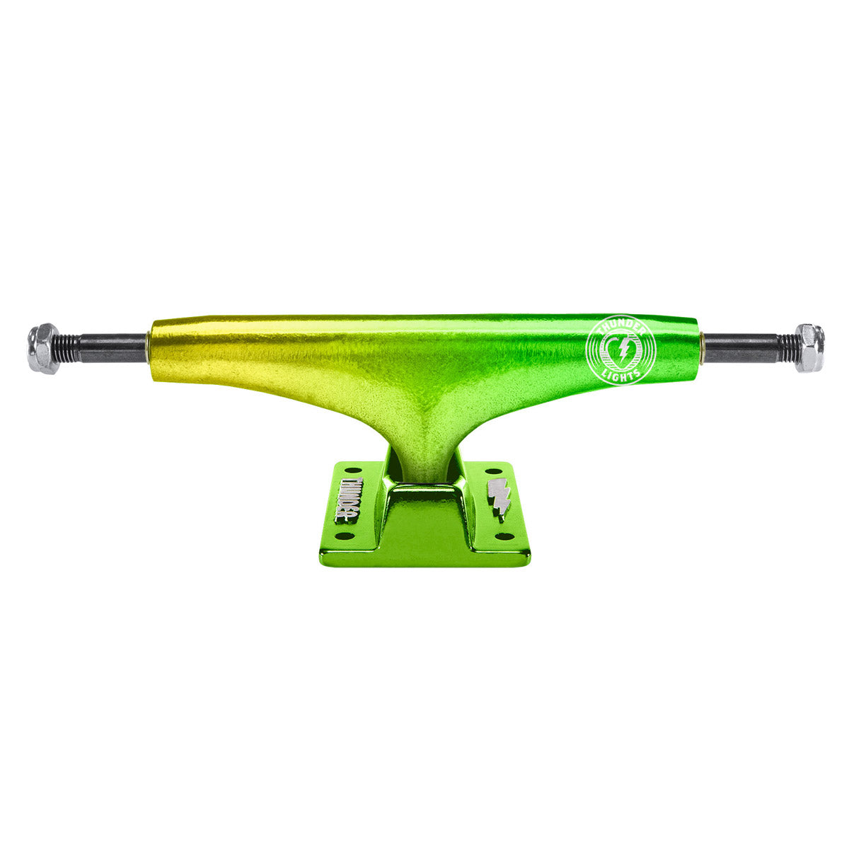 Thunder Trucks Crossfade Light Yellow/Green (Sold As A Single Truck)
