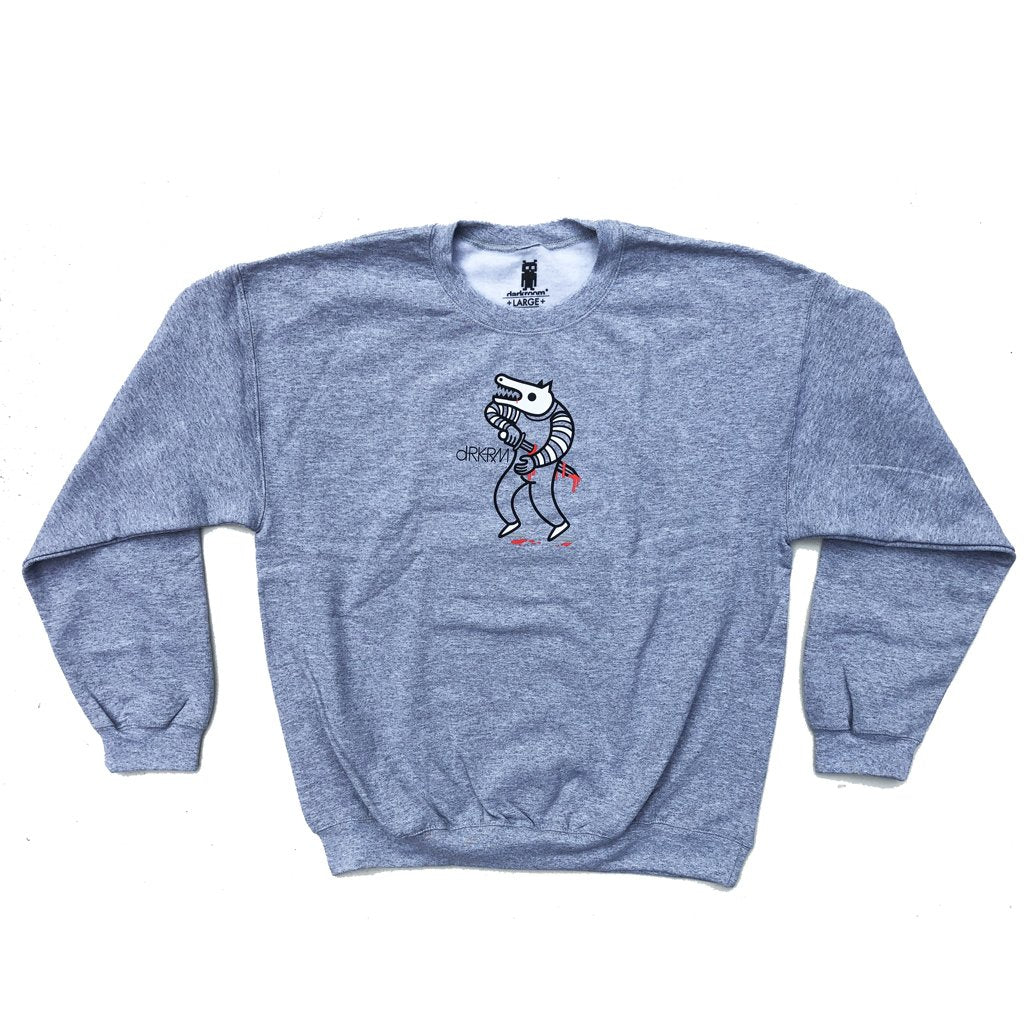 Darkroom Trend Forecast Crewneck Sweatshirt Gray