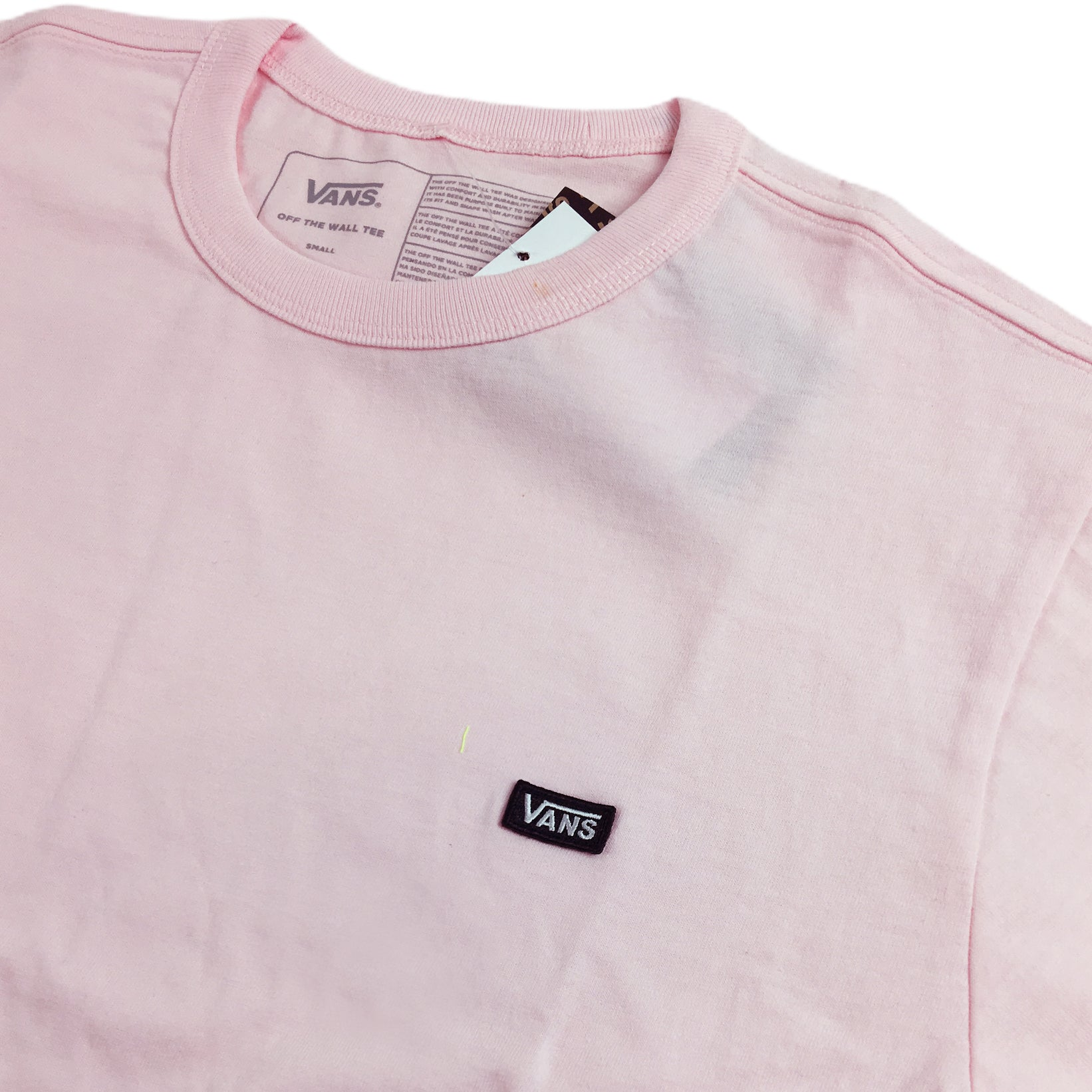 Vans Off The Wall Classic Tee Cool Pink