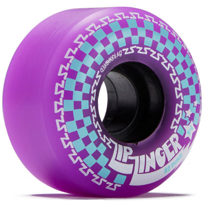Krooked Wheels Zip Zinger 80HD 54mm Purple