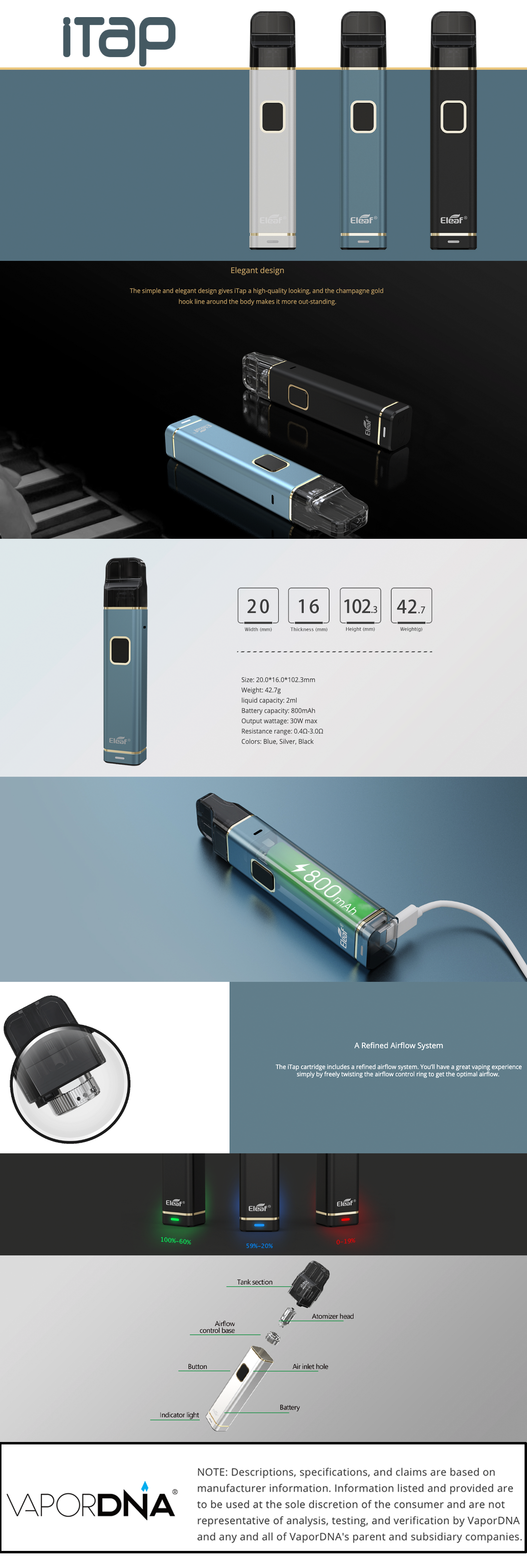Eleaf-iTap-Infographic