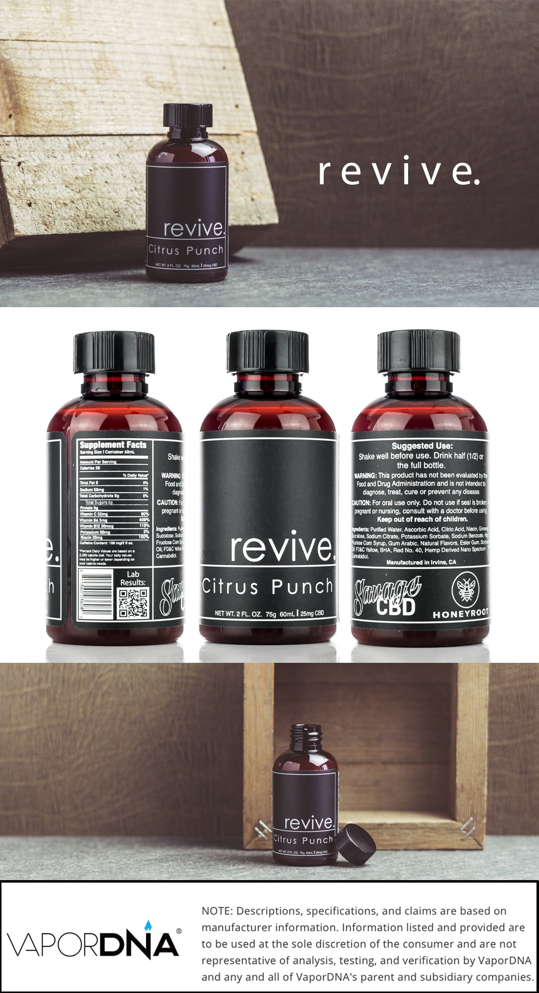 revive cbd shot