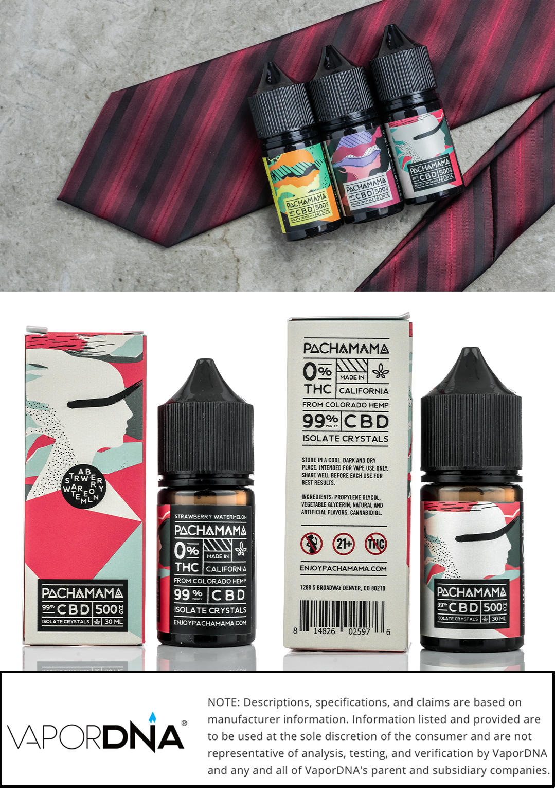 pachamama cbd vape juice infographic-strawberry