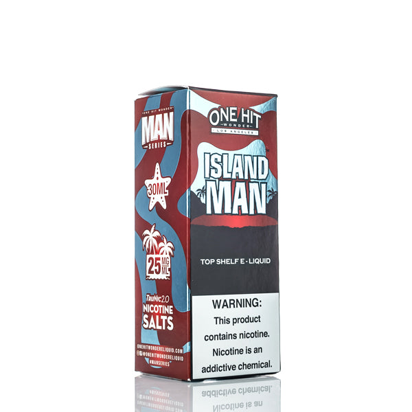 One Hit Wonder Salts - Island Man - 30ml