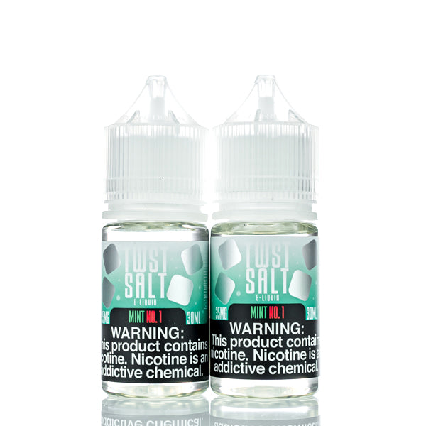 TWST Salt E-Liquid - Mint No.1 - 60ml