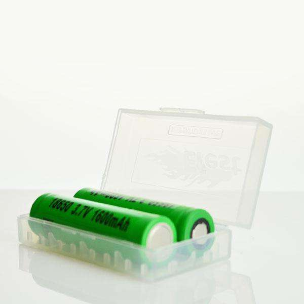 Efest Accessory Efest Battery Case - Clear (Multiple Options) - 18350 Battery Efest Battery Case - Multiple Options