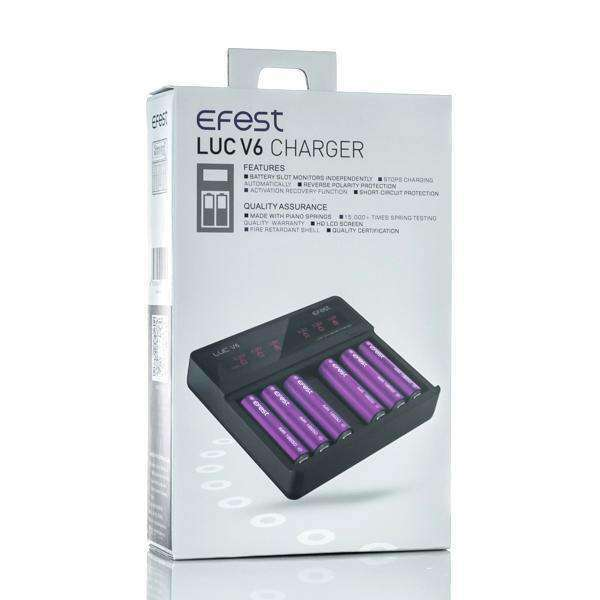 Efest Accessory Default Title Efest LUC V6 Six Bay Smart Battery Charger