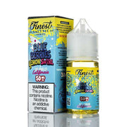 Finest E-Liquid Nicotine Salt E Liquid The  - 50mg Finest SaltNic E-Liquid - Blueberry Lemon Swirl - 30ml