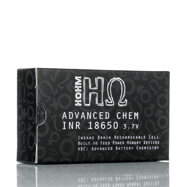 Hohm Tech Accessory Pack of 2 Hohm Tech Hohm Stretch 18650 2856 mAh 31.6A Battery