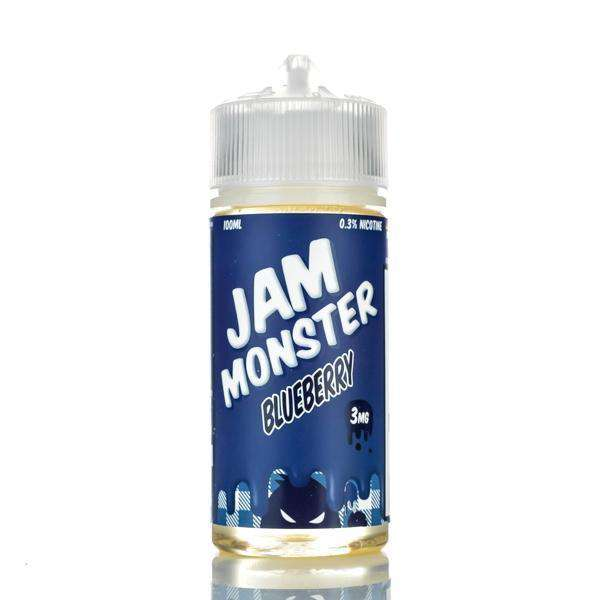 Jam Monster E-Liquid E Liquid 0mg Jam Monster - Blueberry Jam - 100ml
