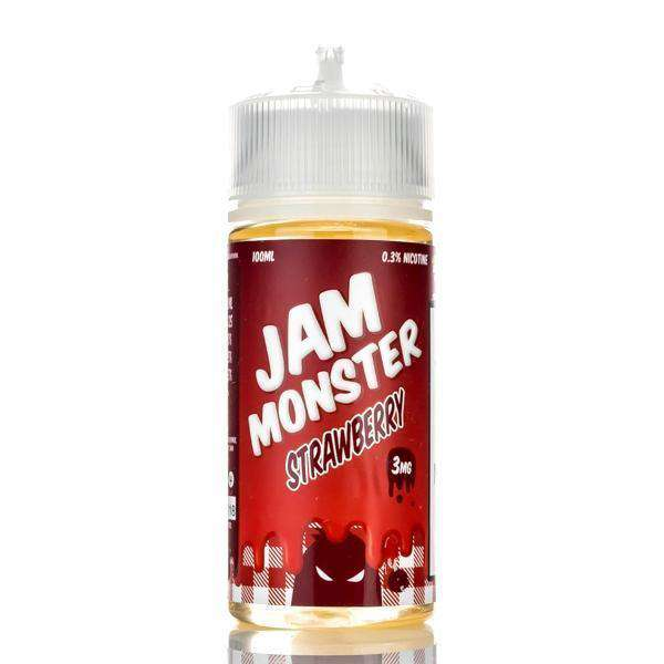 Jam Monster E-Liquid E Liquid 0mg Jam Monster - Strawberry Jam - 100ml