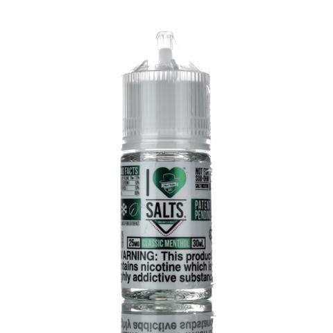 Mad Hatter Juice Nicotine Salt E Liquid 25mg Mad Hatter Juice - I Love Salts - Classic Menthol - 30ml