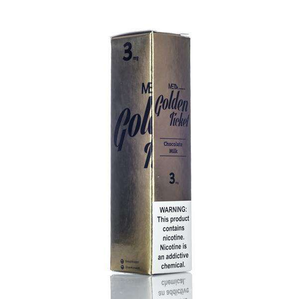 Met4 E Liquid 0mg Met4 Vapor - Golden Ticket - 60ml