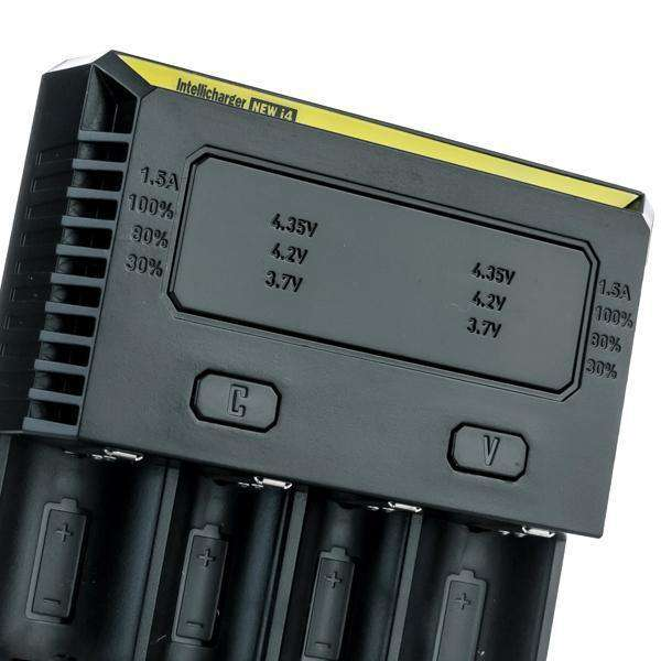 Nitecore Accessory Default Title Nitecore New i4 Intellicharger Battery Charger - Four Bay