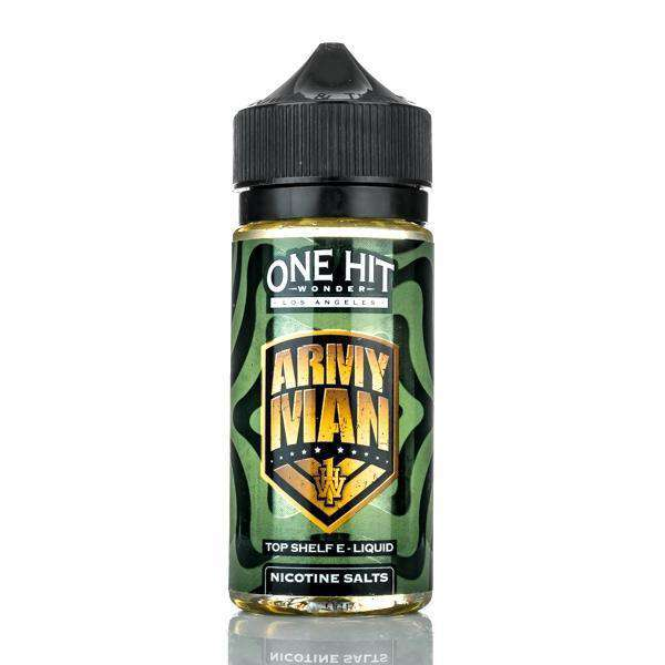 One Hit Wonder E Liquid E Liquid 0mg One Hit Wonder E-Liquid - Army Man - 100ml