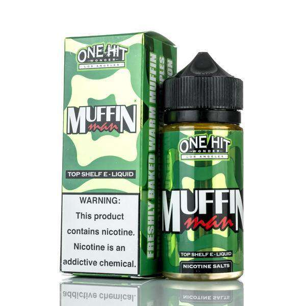 One Hit Wonder E Liquid E Liquid 0mg One Hit Wonder E-Liquid - Muffin Man - 100ml