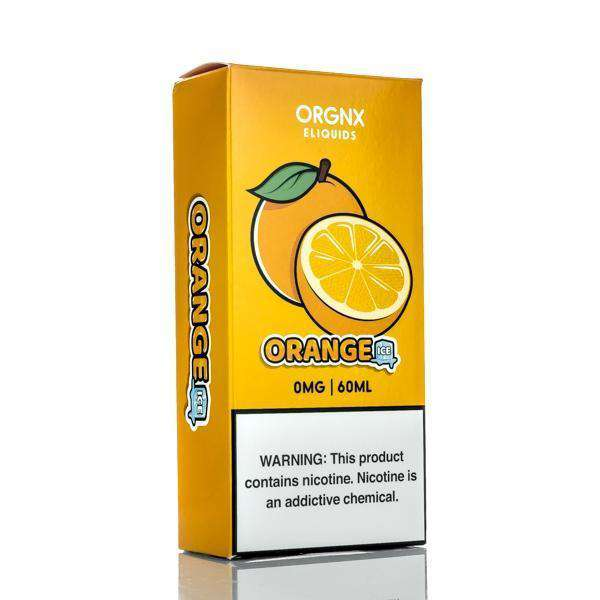 Orgnx E-Liquid E Liquid 0mg Orgnx E-Liquid - Orange Ice - 60ml