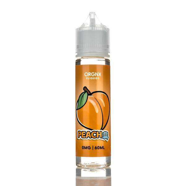 Orgnx E-Liquid E Liquid 0mg Orgnx E-Liquid - Peach Ice - 60ml