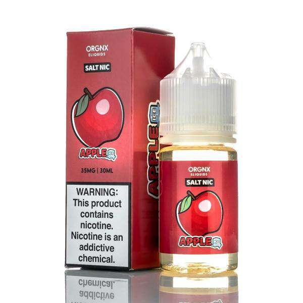 Orgnx E-Liquid Nicotine Salt E Liquid 35mg Orgnx E-Liquid Salts - Apple Ice - 30ml