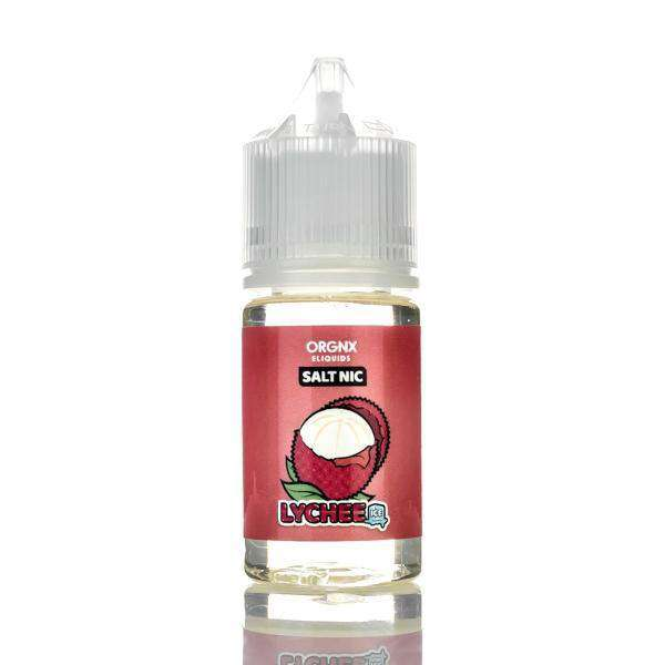 Orgnx E-Liquid Nicotine Salt E Liquid 35mg Orgnx E-Liquid Salts - Lychee Ice - 30ml