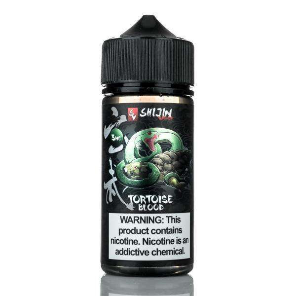Shijin Vapor E Liquid 0mg Shijin Vapor - Tortoise Blood - 100ml