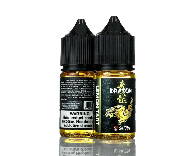 Shijin Vapor Nicotine Salt E Liquid 50mg Shijin Vapor Salts - Dragon - 30ml