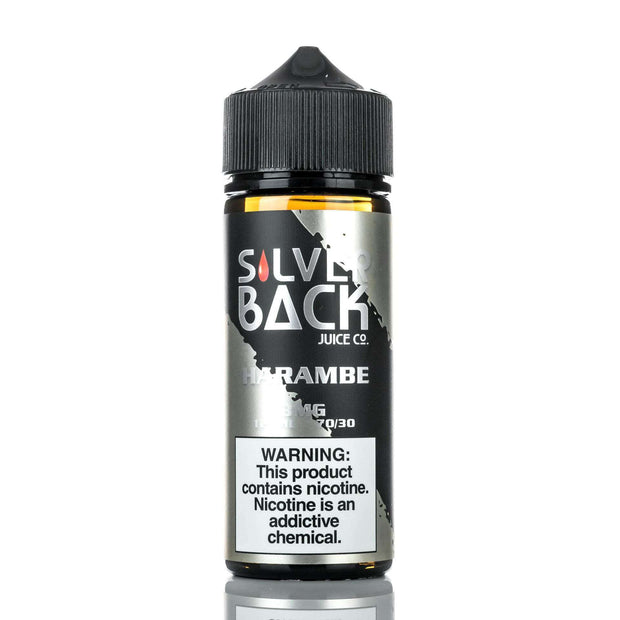 Silverback Juice Co E Liquid 0mg Silverback Juice Co - Harambe - 120ml