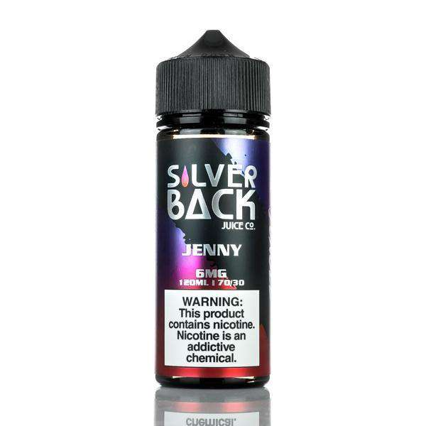 Silverback Juice Co E Liquid 0mg Silverback Juice Co - Jenny - 120ml