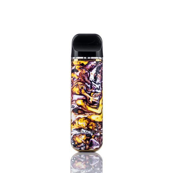 SMOK Pod System Yellow and Purple SMOK Novo 2 Portable Pod System