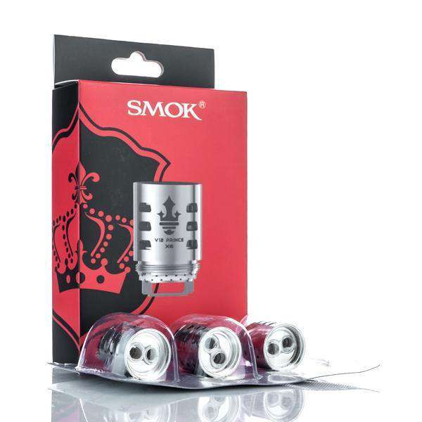 SMOK Replacement Coil Pack of 3 - 0.12 ohm V12 Prince-T10 SMOK TFV12 Prince Replacement Coil Pack