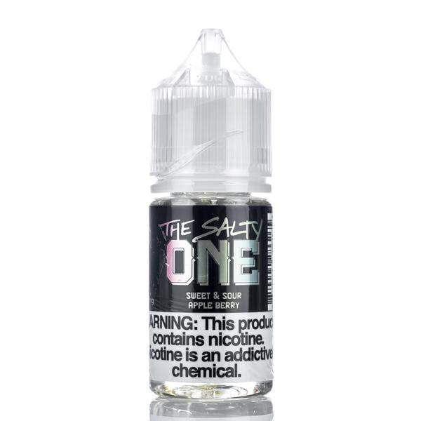 The One E-Liquid Nicotine Salt E Liquid The Salty One - Sweet and Sour Apple Berry - 30ml