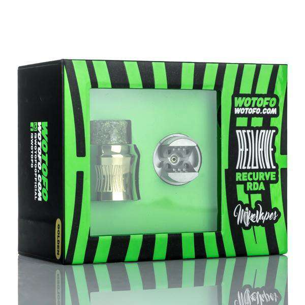 Wotofo Rebuildable Black Wotofo x Mike Vapes Recurve 24mm BF RDA