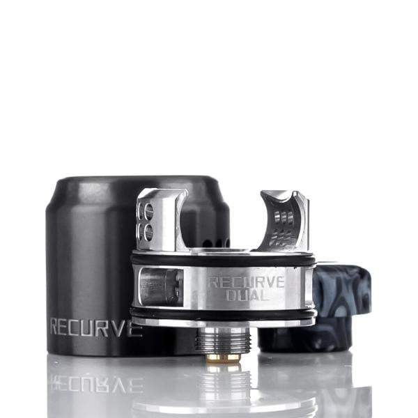 Wotofo Rebuildable Black Wotofo x Mike Vapes Recurve Dual 24mm BF RDA