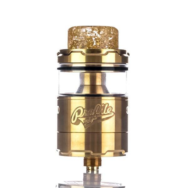 Wotofo Rebuildable Gold Wotofo x Mr.JustRight1 x TVC Profile Unity 25mm RTA