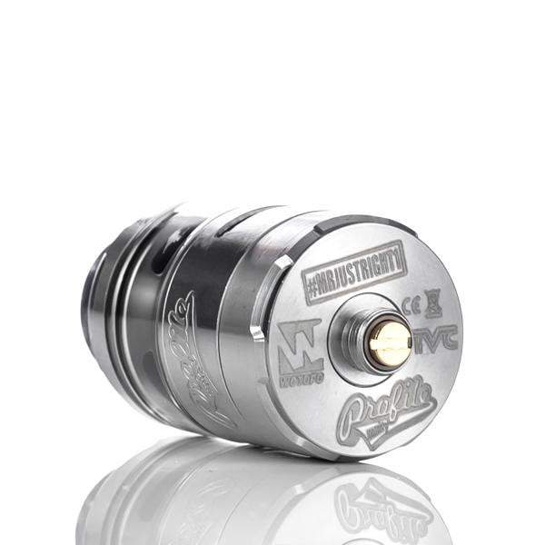 Wotofo Rebuildable Black Wotofo x Mr.JustRight1 x TVC Profile Unity 25mm RTA