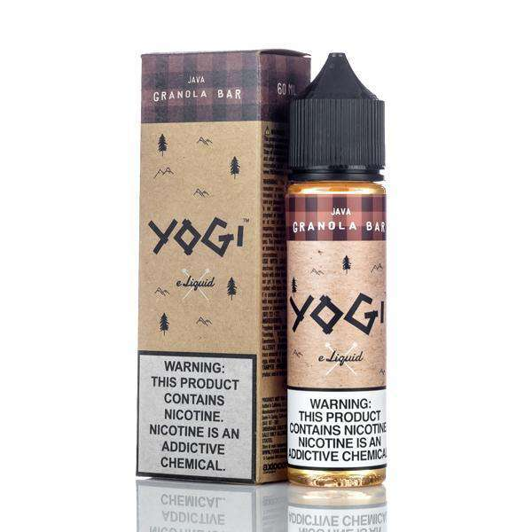 Yogi E-Liquid E Liquid 0mg Yogi E-Liquid - Java Granola Bar - 60ml