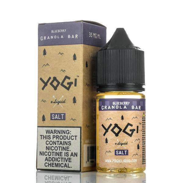 Yogi E-Liquid Nicotine Salt E Liquid 35mg Yogi E-Liquid Salt - Blueberry Granola - 30ml