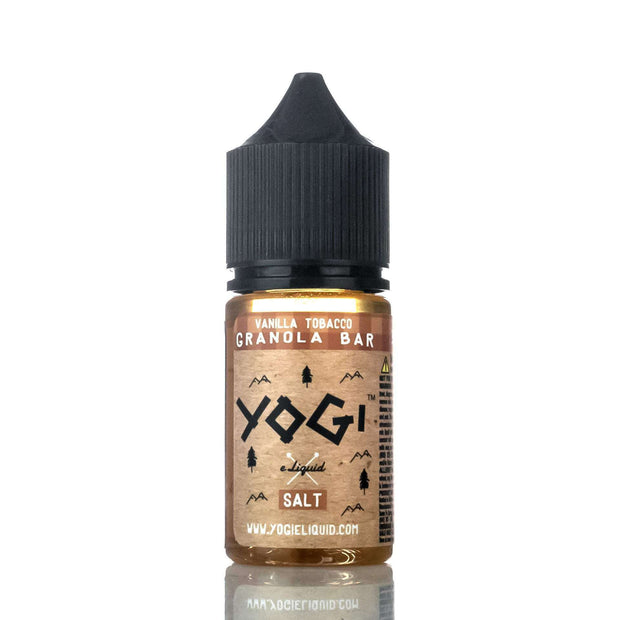 Yogi E-Liquid Nicotine Salt E Liquid 35mg Yogi E-Liquid Salt - Vanilla Tobacco Granola Bar - 30ml